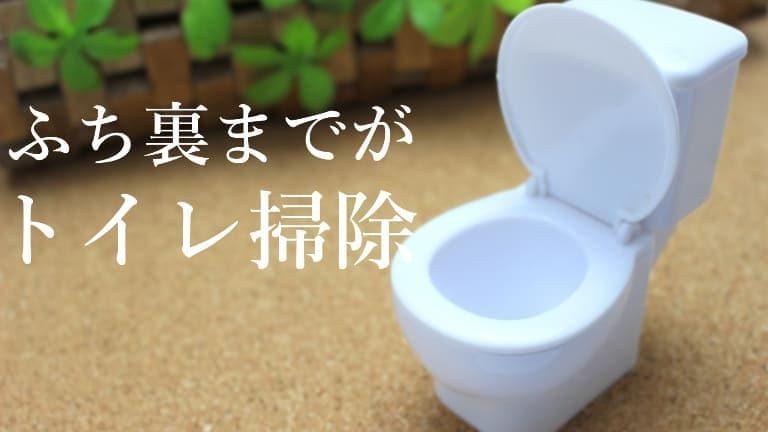 トイレのふち裏の黒ずみ掃除方法!綺麗にした後の予防まで完璧!