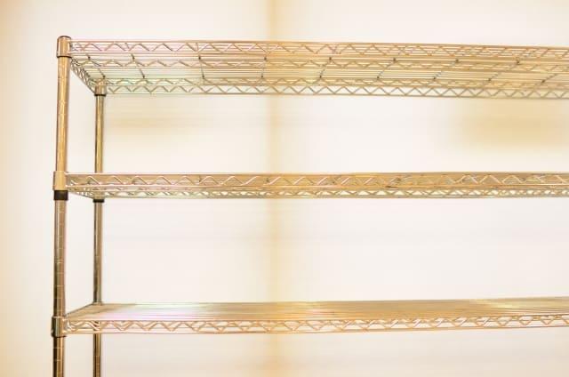 metal2 メタルラックの掃除は簡単!ホコリやサビ、くすみはこれだけでキレイになる!